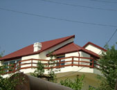 Shemaxa city, KAMI Terra Plegel metal roofing systems